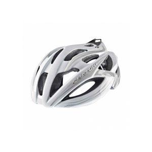 Casco bici - Cratoni C-bolt Blanco perla - Gris plata brillante