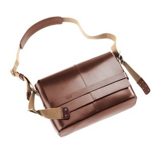 Bolsa de hombro - Brooks Barbican Hard Leather - marrón