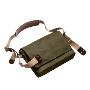 Bolsa de hombro - Brooks Barbican Shoulder Bag - verde musgo