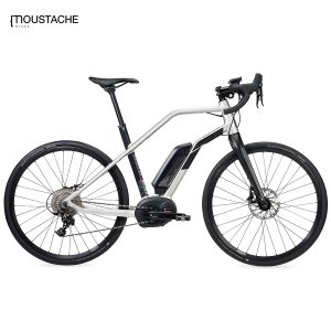Bicicleta eléctrica Moustache Dimanche 28 Silver (Plata)