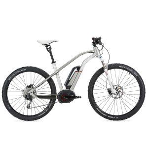 Bicicleta eléctrica Moustache Samedi 27/9 silver