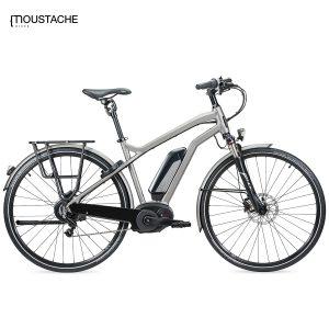 Bicicleta eléctrica Moustache Samedi 28 Titanium (Titanio)