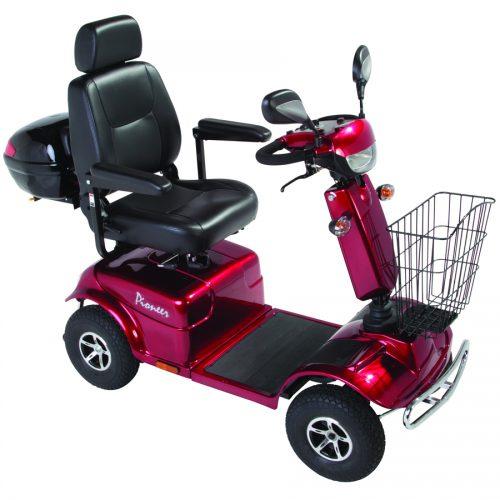Scooter eléctrico Rascal Pioneer - rojo