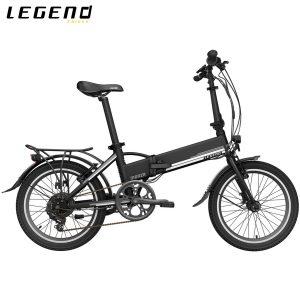 Bicicleta eléctrica Legend Monza - negro