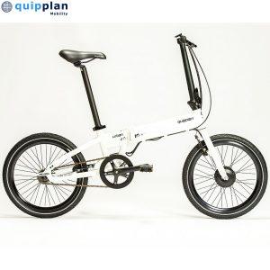 Bicicleta eléctrica Quipplan q20 F02 PLUS urban - blanco