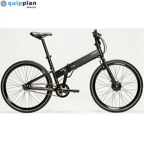 Bicicleta eléctrica Quipplan q26 F02 PLUS urban - negro