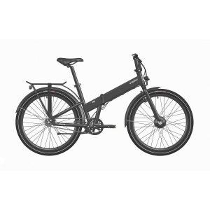 Bicicleta eléctrica q26 - F02 city negra