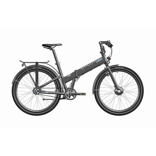 Bicicleta eléctrica Quipplan q26 F11 city negra