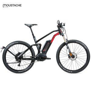 Bicicleta eléctrica Moustache Samedi 27-9 FS Speed (Negro)