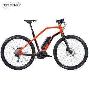 Bicicleta eléctrica Moustache Dimanche 28 Xroad (Naranja)
