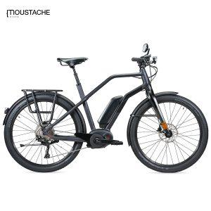 Bicicleta eléctrica Moustache Friday 27 Speed (Antracita)