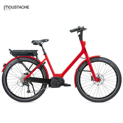 Bicicleta eléctrica Moustache Lundi 26 10S (Rojo)