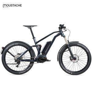 Bicicleta eléctrica Moustache StarckBike ASPHALT (Antracita)
