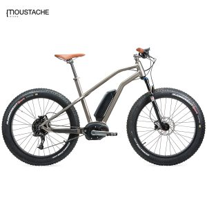 Bicicleta eléctrica Moustache StarckBike SAND (Gris calido)