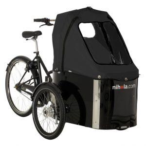 Triciclo Nihola Family - funda negra