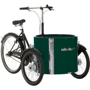 Triciclo Nihola Low - verde