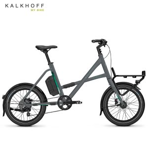 Bicicleta eléctrica Kalkhoff Durban Compact g8 Gris pizarra mate