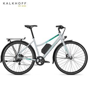 Bicicleta eléctrica Kalkhoff Durban g8 Plata palermo mate