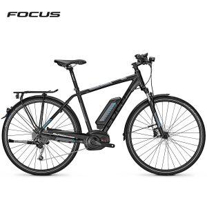 Bicicleta eléctrica Focus Aventura²  Elite (Negro magico-Gris mate)