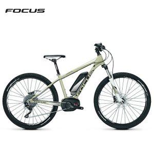 Bicicleta eléctrica Focus Jarifa 27 Pro Donna (Beige nube-Blanco)