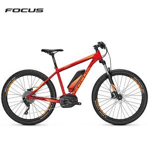 Bicicleta eléctrica Focus Jarifa Plus Pro (Rojo fuego-Naranja mate)