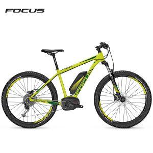 Bicicleta eléctrica Focus Jarifa Plus (Verde lima-Verde mate)