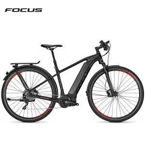 Bicicleta eléctrica Focus Jarifa i Street Pro (Negro magico-Negro mate)