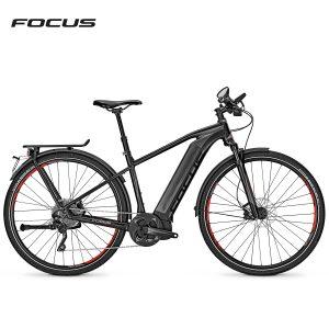 Bicicleta eléctrica Focus Jarifa i Street Speed (Negro magico-Negro mate)