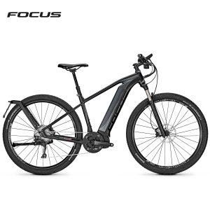Bicicleta eléctrica Focus Jarifa i29 Speed (Negro magico-Negro mate)