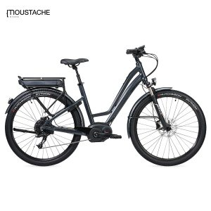 Bicicleta eléctrica Moustache Samedi 27 Open Xroad 3 (Antracita)