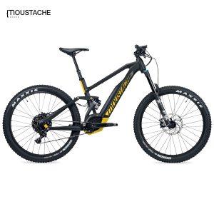 Bicicleta eléctrica Moustache Samedi 27 Race 8 (Negro mate)