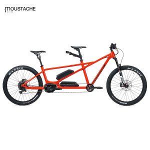 Bicicleta eléctrica Moustache Samedi 27 X2 (Naranja)