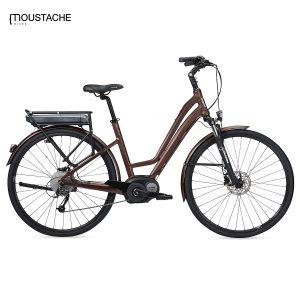 Bicicleta eléctrica Moustache Samedi 28 Brown Open (Bronce)