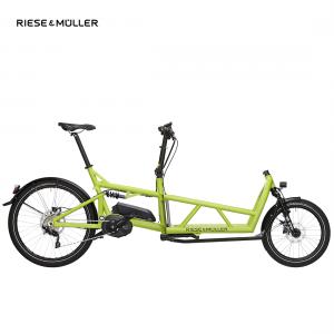 Bicicleta eléctrica Riese & Müller Load en color lima