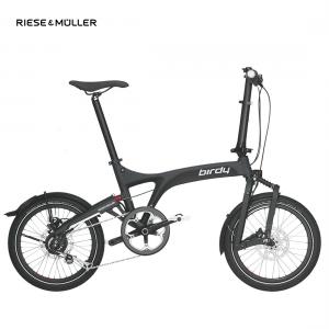 Modelo dualdrive de la bicicleta plegable Birdy de Riese & Müller en color blanco