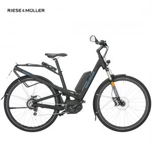 Riese & Müller Homage nuvinci HS en color negro