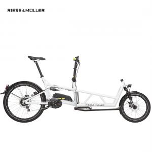 Modelo Load de Riese & Müller con cambio nuvinci en color blanco