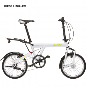 Bicicleta plegable Riese & Müller World Birdy Comfort en color blanco