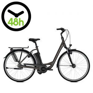Bicicleta eléctrica Kalkhoff Jubilee Advance i7 en color gris atlas